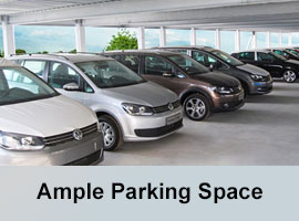 Ample parking space & earmarked visitors parking.